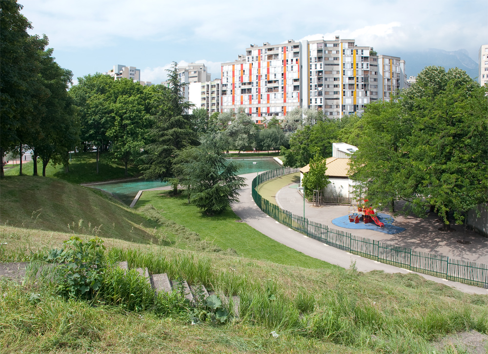 Parc echirolles - Restaurant jardin de ville grenoble ...